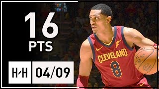 Jordan Clarkson Full Highlights Cavs vs Knicks (2018.04.09) - 16 Points!