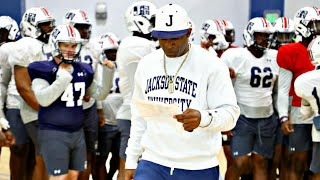 """Jackson State Coach Deion Sanders has a """"MESSAGE FOR THE PEOPLE"""" 
