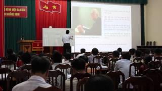 Bài giảng TQM trong dự án đào tạo Quản Lý Bệnh Viện của TS Bùi Bình Thế