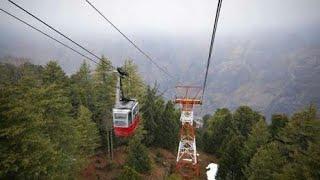 Auli Ropeway - Cable Car 4 Km  Highest Ropeway of India Joshimath to Auli Uttrakhand
