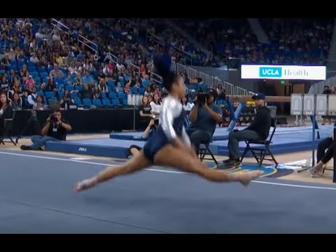 UCLA Gymnast Sophina DeJesus's Incredible Floor Routine Goes Viral
