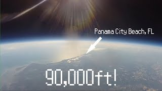 We Sent a GoPro to SPACE!   Full Footage