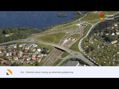 Ryfast 1st traffic and construction phases 3D movie