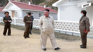 Kim Jong-un inspects construction sites at typhoon-hit areas after regretting over 'suffering' in NK