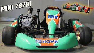 Rotary Go Kart Gets A WILD Paint Job! (Mazda 787b Livery!) | Rotary Shifter Kart Episode 5