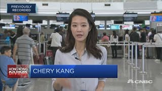 Hong Kong airport opens again after two days of protest disruptions