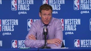 Terry Stotts Postgame Interview - Game 1 | Trail Blazers vs Warriors | 2019 NBA Playoffs
