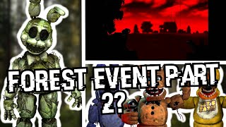 FNAF AR New Event Coming Today! Forest Event Part 2, Withereds, Gameplay Update?