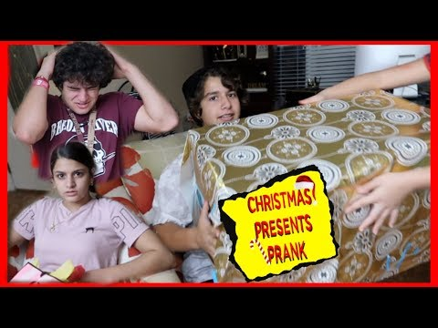 CHRISTMAS PRESENTS PRANK ON OUR 3 COUSINS / KEVIN , KEILLY AND KENDRY | VLOGMAS DAY 14