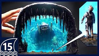 Make The Frozen Leviathan【 Subnautica/Below Zero/Diorama/Resin art/Sculpture 】