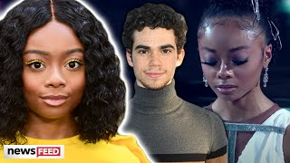 Cameron Boyce Honored By Skai Jackson During 'DWTS' Performance!