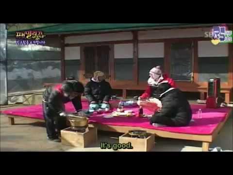 Daesung's aegyo & T.O.P getting annoyed