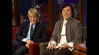 Jackie Chan and Owen Wilson on Jay Leno (Feb 03, 2003)