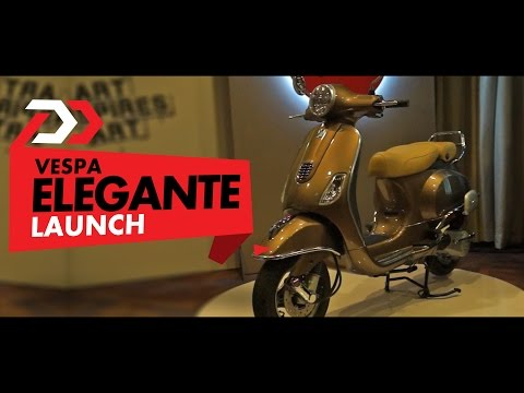 Launch Alert: Vespa Elegante : PowerDrift