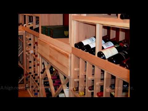 Modern Wine Cellar in a Garage in the San Francisco Bay Area