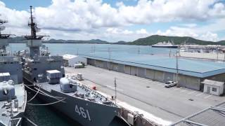 HTMS Chakri Naruebet is the flagship of the Royal Thai Navy