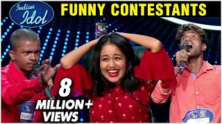 Indian Idol 11 Auditions FUNNY Contestants Singing Dancing With Neha Kakar Anu Malik Vishal Dadlani