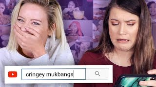 reacting to cringey mukbangs ft. jessi smiles