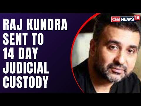 Raj Kundra, husband of Shilpa Shetty, sent to 14-day judicial custody