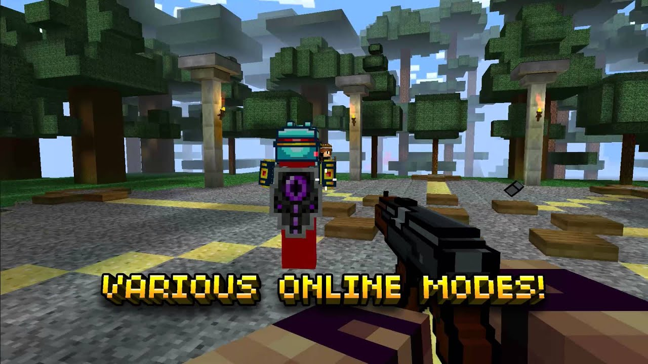 Play Pixel Gun 3D on PC 1