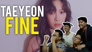 "Just another ""FINE"" Taeyeon MV Reaction #taebaealltheway"
