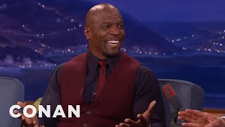 Terry Crews Just Wants To Cuddle  - CONAN on TBS