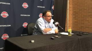 Stan Van Gundy on Pistons' 113-96 win over 76ers