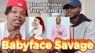 "SNAPPED!! | BHAD BHABIE feat. Tory Lanez ""Babyface Savage"" (Official Music Video) - REACTION"