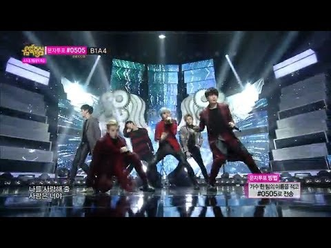[Comeback Stage] B.A.P - 1004(Angel), 비에이피 - 1004(천사), Show Music core 20140208