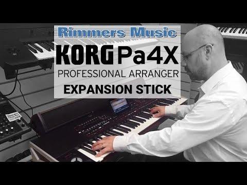 KORG Pa4X 76 Professional Arranger Keyboard Soundbar Bundle