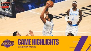 HIGHLIGHTS | Anthony Davis (28 pts, 10 reb, 5 ast) at Indiana Pacers