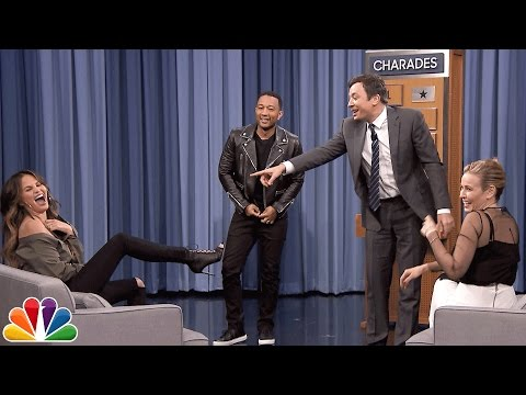 Charades with Chelsea Handler, John Legend and Chrissy Teigen