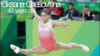 Oldest ELITE gymnast in the world - Oksana Chusovitina (age 42)