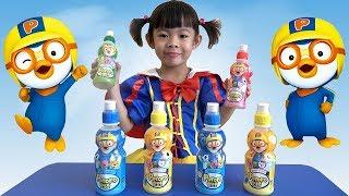 Đi Siêu Thị Hàn Quốc K-Mart Mua Và Uống Thử Nước Ngọt Pororo ❤ AnAn ToysReview TV ❤