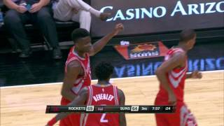 Clint Capela Rises Over Brandon Knight for the Poster Smash