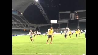 Ibrahimovic amazing Kung Fu kick