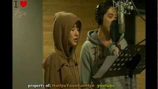 Yoon Eun Hye 윤은혜 & Kang Ji Hwan [Lie To Me 'Lovin Ice Cream'] Recording Studio