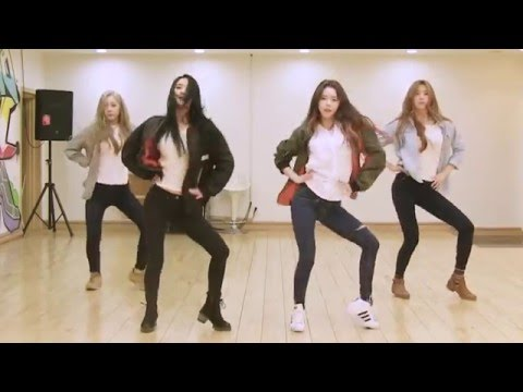 DALSHABET - Someone like U - mirrored dance practice video - 달샤벳 너 같은 안무영상