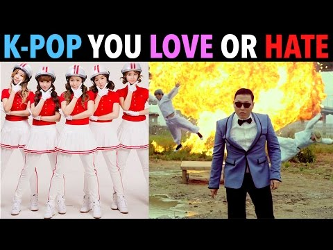 K-POP SONGS YOU EITHER LOVE OR HATE!
