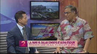 LA Rams and Dallas Cowboys to play at Aloha Stadium