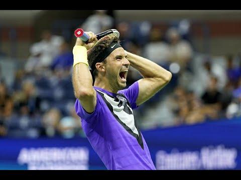 Григор Димитров победи Роджър Федерер и е на полуфинал на US Open'2019