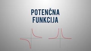 Potenčna funkcija z negativnim celim ekponentom