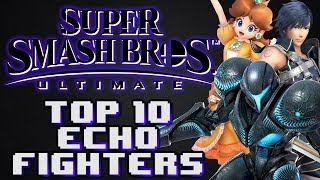 Top 10 Echo Fighters For Super Smash Bros. Ultimate!