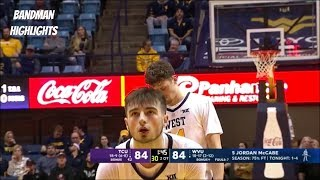 Jordan McCabe West Virginia vs TCU- Full Highlights/ 2.26.19/ 25pts 11ast 5reb