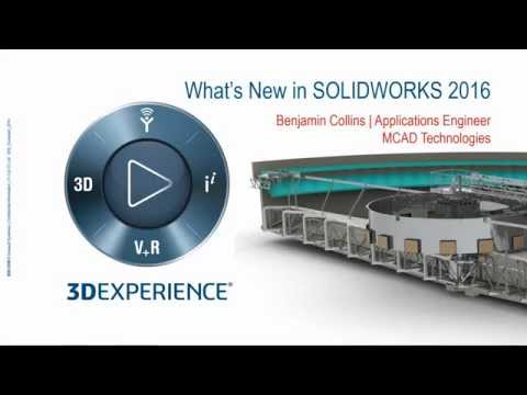 SolidWorks 2016: What's New Sneak Peak