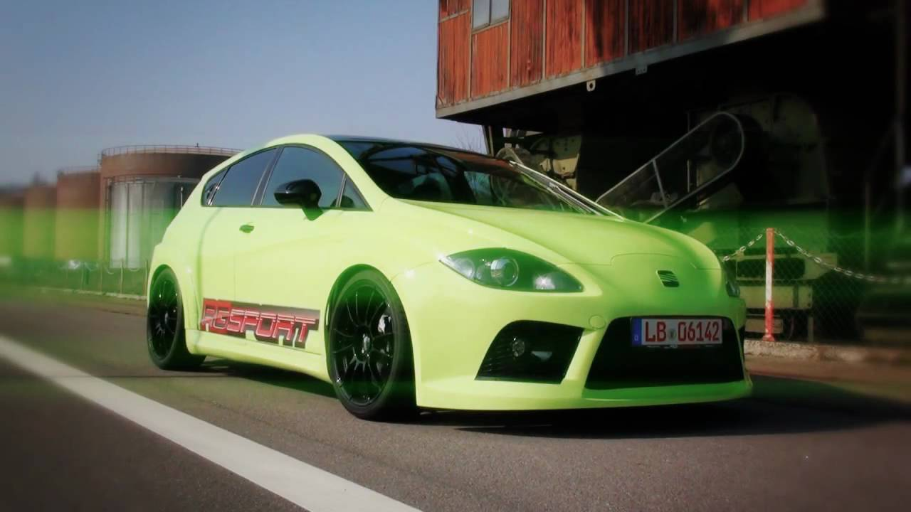 seat leon 1p extreme tuning by rg sport youtube. Black Bedroom Furniture Sets. Home Design Ideas