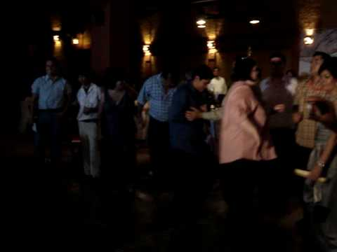 Chuncha Navarro bailando el pavido navido