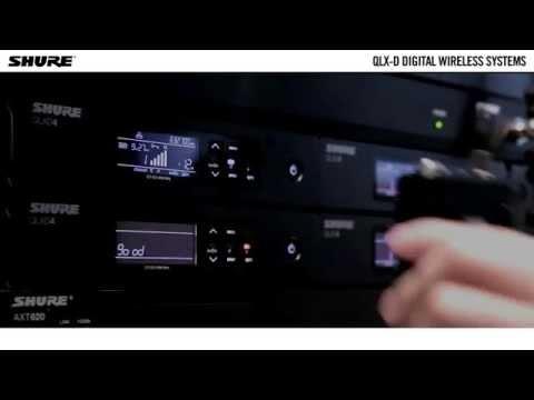 Shure QLX-D Digital Wireless System: QLXD1 Digital Wireless Bodypack