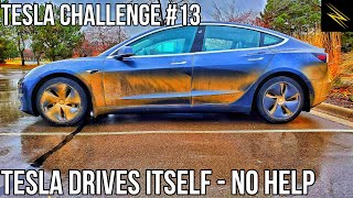 Navigate on Autopilot Has Improved So Much It Can Drive 25 Miles with NO HELP! | TESLA CHALLENGE #13