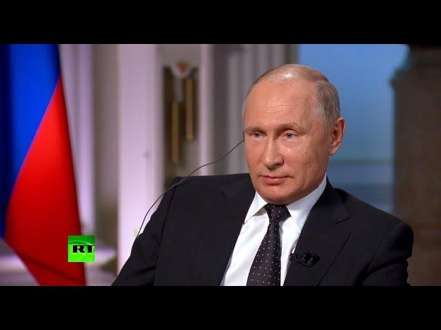 Путин рассказал о том, что думает о сборной России по футболу и назвал своих любимых игроков